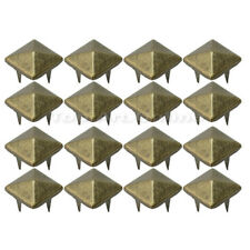 100 Pcs DIY Punk Rock Pyramid Studs Nailheads For Clothes Shoes Bags Decoration