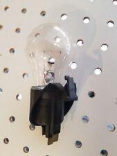 Ge Refrigerator Light Socket With Light Bulb Part # Wr02X10591 (Black)