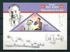 Ivory Coast 2016 MNH Walt Disney 50th Memorial Anniv 1v S/S Stamps
