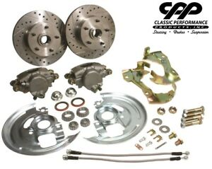 1967-69 Chevy Camaro Pontiac Firebird Stock Spindle Disc Brake Component Kit