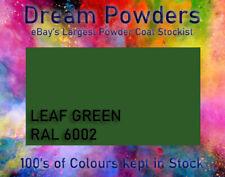 RAL 6002 Leaf Green Powder Coat 1KG Refurbishment Powder Coating Alloy Wheel