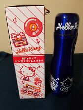 Sanrio~Hello Kitty 80s Pop~Stainless Steel Thermos Bottle~450 ml~Japan Prize~NEW