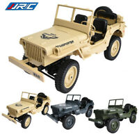 JJRC Q65 Electric 2.4G 1/10 Jedi Jeep Truck Off-Road Military RC Car RTR Toy