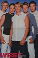 WESTLIFE - A3 Poster (ca. 42 x 28 cm) - Clippings Fan Sammlung NEU
