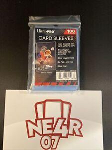 ULTRA PRO X 100 Bustine Soft CARD SLEEVES Proteggi Carte Pokemon Yugioh Mtg