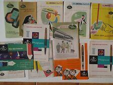 ----- FABER CASTELL ---- 50's 60's  PRICE LIST  CATALOG  BROCHURE  DEPLIANT