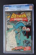BATMAN #240 NEAL ADAMS-c 3/1972; 3rd appearance TALIA & RA'S AL GHUL CGC VF+ 8.5