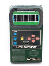 New ListingVintage 1978 Mattel Electronics Football 2 Handheld Game Works