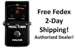New NUX PT-6 Pedal Tuner Guitar Effects Pedal