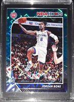 2019-20 JORDAN BONE RC Rookie Card Detroit Pistons NBA Hoops Teal Explosion #240