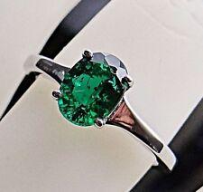 Schönheit Pur!!!wunderschöner 14K 585 WeissGold Ring mit  1,10 Carat SMARAGD