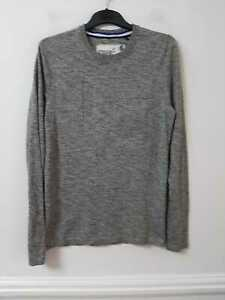 Superdry Grey Pullover Size Large Boys Long Sleeve (L895)