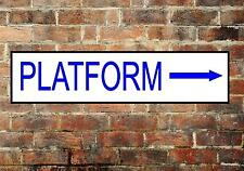 Railway Station Sign Reproduction Railway Station Sign Platform Sign