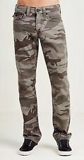 NWT TRUE RELIGION JEANS $199 MENS STRAIGHT FLAP CAMO PANTS SZ 29