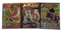 K-Zone Vintage Collectors Magazines October, November December 2000 & Photocard