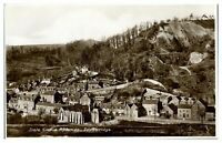 Antique RPPC real photograph postcard Dale End & Rotunda Ironbridge