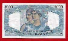 (Ref: P.45) 1000 FRANCS MINERVE ET HERCULE 14/06/1945 (SPL-)
