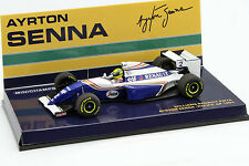 Ayrton Senna Williams fw16 #2 Pacifique GP Formule 1 1994 1:43 Minichamps