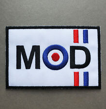 MOD Vespa Motor Racing Car Performance Logo Embroidered Iron on Patch