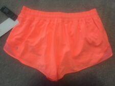 BNWT Lululemon Pop Orange Hotty Hot Short II*Long Size 12-- PORA