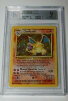 Pokémon Base Unlimited  Portuguese Charizard 4/102 - Vintage Graded BGS 9 Mint