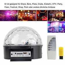 Disco RGB Projektor LED Lichteffekt MP3 Discokugel Magic f. Party Clubs Party