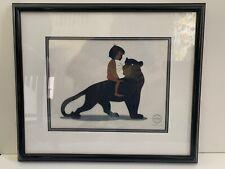 "Disney Jungle Book Sericel ""Mowgli's Mentor"" Mowgli & Bagheera - 1/5000"