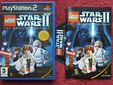 LEGO STAR WARS II (2) THE ORIGINAL TRILOGY ORIGINAL BLACK LABEL SONY PS2 PAL