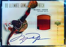 Michael Jordan 2001-01 UD Ultimate Collection Game Jersey Patch 17/23 Rare SGC 9