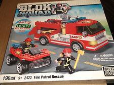mega bloks  BLOK SQUAD FIRE PATROL RESCUE