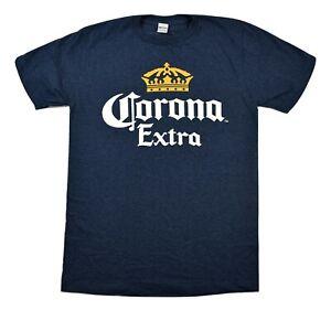 Corona Extra Mens Crown Logo Tee Shirt New S, M
