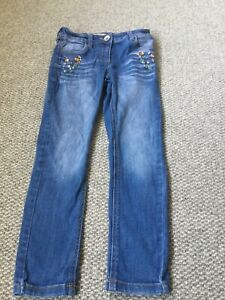 Girls Jewel Jeans By Next In Size Age 7 Years