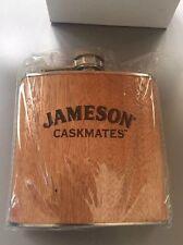 Original Jameson Caskmates Irish Whiskey Flask 6oz Stainless Steel 6 oz