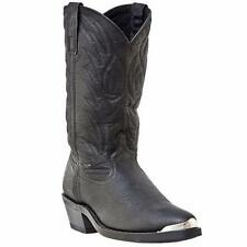 LAREDO EAST BOUND Men's Cowboy R Toe Black Western Boots  68610  NIB