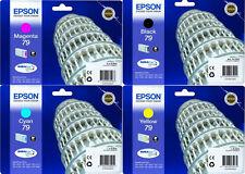 4x EPSON ORIGINAL Tinte PATRONEN WF4630DWF WF5110DW WF5190DW WF5620DWF WF5690DWF