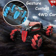 Gesture Sensing Remote Control Car, RC Car Toy for Kids Rotating Stunt Car Gift