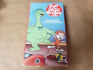 PUFF THE MAGIC DRAGON VHS 1978