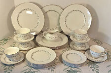 32 Pc Set Royal Doulton CADENCE Pattern TC1007-5 Pc. Service for 6 & Creamer EUC