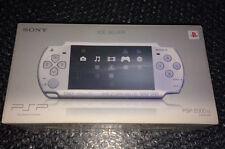 Console PSP 2000 is Lite & Slim Ice Silver Jp Jap Japan NEAR MINT FW 3.80 MS 4Gb
