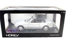 NOREV 1971 PEUGEOT 504 CABRIOLET  1/18 DIECAST CAR