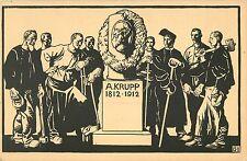 Feldpostkarte Zur Hundertjahrfeier der Firma Krupp 1812-1912