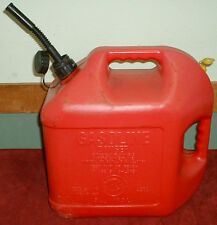 VINTAGE BLITZ 5 GALLON GAS CAN FADED WITH FLEXIBLE SPOUT AND VENT