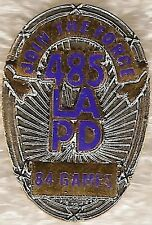 Los Angeles LAPD Join the Force Olympic Security Pin