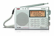 TECSUN PL660 PLL WORLD BAND RECEIVER FM / MW / LW / SW / AIR <<SILVER>>