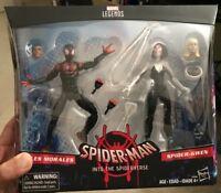 "Marvel Legends 6"" Miles Morales Spider-Gwen Into the Spider-Verse Ultimate Man"
