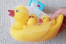 Floating Bath Tub Toys Rubber Duck Family Bathtub Pals Set of 4 Free Shipping