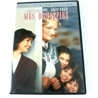 Mrs Doubtfire DVD Rated PG-13 Full Screen Comedy Robin Williams Sally Field