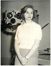 Italia, Nicoletta Orsomando, del Centro di Produziona TV di Roma  Vintage silver