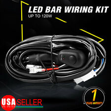 For Off-road Light / Light Bar 8FT Wiring Harness with Switch & Relay