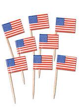 USA BANDIERA AMERICANA FESTA Picks Pk50
